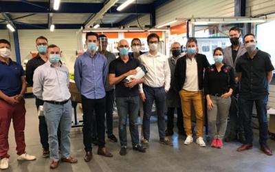 En partenariat avec Fonto de vivo, Plastil développe un profilé PVC pour le traitement de l'eau