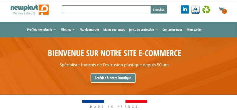Plastil étend son offre e-commerce avec sa boutique Newplast
